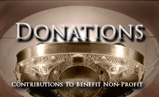 Donations and contributions to benefit the Samadhi Retreat Non-Profit