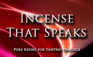 Incense that speaks which are pure resins for tantric practice