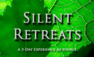 Silent Retreats a three day experience as source