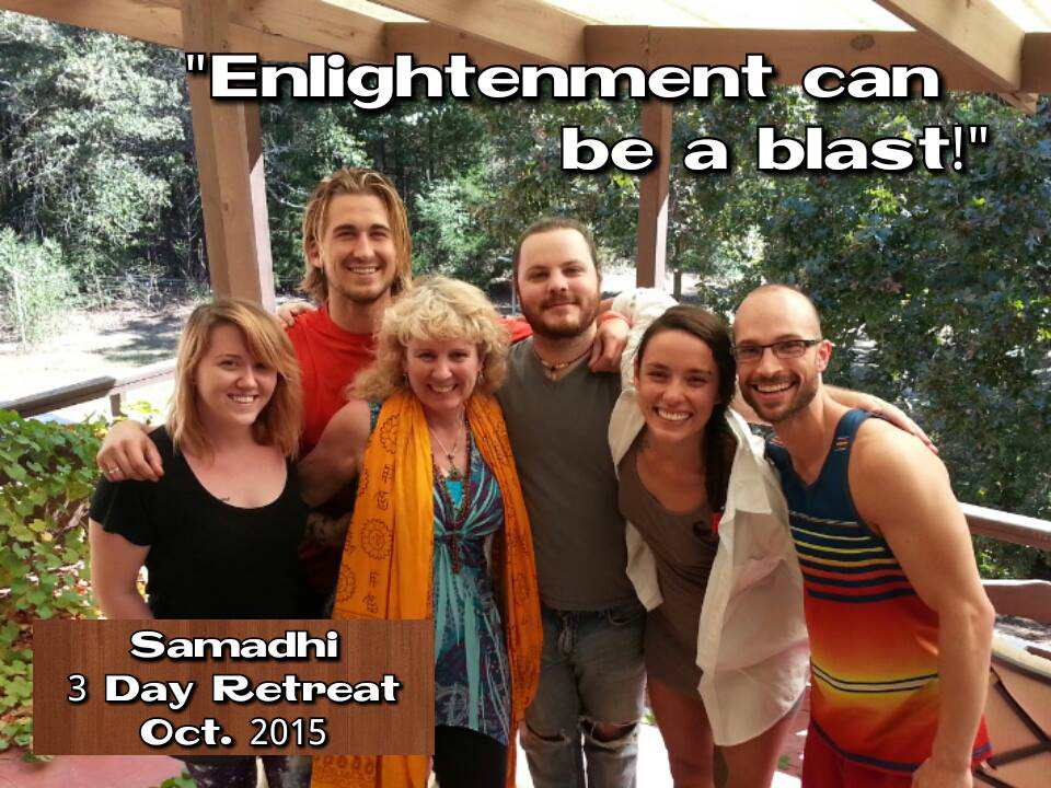Enlightenment Can Be A Blast, is the response of retreats participants