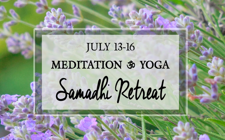 Samadhi Silent Retreats to discover the truth of your own divinity.