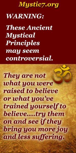 Mystic 7 Principles