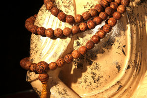 How can I get my mala blessed by the Dalai Lama?